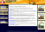 Carrington Equipment Group - Heavy machinery for construction civil engineering and mining. New used and rental equipment.