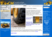 Construction Market -  Australian online market-place for used construction machinery and parts.