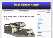 Solar Dream House - Personal home-design blog on the challenges of building an Australian passive-solar house with a south-facing view.